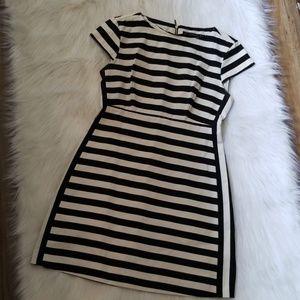 Zara Trafaluc Striped Dress